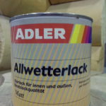 ADLER Allwetterlack lak dlya drevesin 0,75L (Avstria)