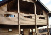 Дом обработан Lignovit Platin
