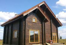 Зашита фасада маслом Pullex Holzöl: Грунтование, обработка торцов, герметизация, покраска