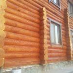 Покраска дома в Мариинске