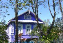 дача, деревянный дом