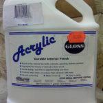 Finihnoe pokrytie dlya narugnh pabot Lifeline Acrylic Gloss 3,8 L (USA)